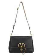 Valentino Garavani Large Shoulder Bag - Nero naturale