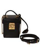Mark Cross Grace Cube Shoulder Bag - Black