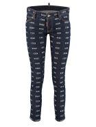Dsquared2 Jennifer Cropped Jeans - Denim