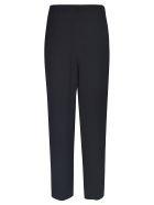 Emporio Armani Wide-leg Trousers - Nero
