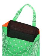 Arizona Love Bandana Print Tote Bag - GREEN ORANGE (Green)