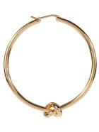 Celine Large Hoops Bracelet - Gold