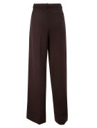Theory Wide Trousers - Espresso