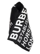 Burberry Scarf Padded - Black White