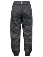 McQ Alexander McQueen Logo Patch Wide Fit Track Pants - Darkest Black