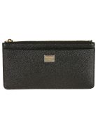 Dolce & Gabbana St. Dauphine Card Holder - Black
