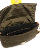 Fendi Fendi Logo Strap Messenger Bag - Green