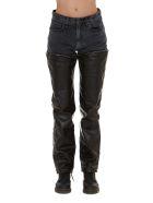 R13 Zip Off Jeans - Black
