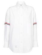 Thom Browne Cropped Shirt - White