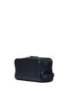 Bottega Veneta Bottega Veneta Woven Wash Bag - LIGHT TOURMALINE NERO