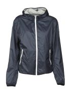 Colmar Classic Side Zip Reversible Effect Windbreaker - Blu grigio