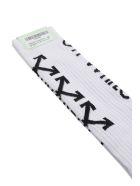 Off-White Arrows Socks - Bianco