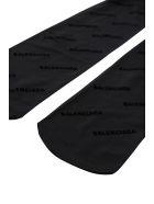 Balenciaga Monogramme Pantyhose - Black