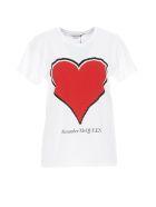 Alexander McQueen Alexander Mcqueen T- Shirt - Bianco