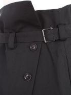 Y's Skirt Wrap W/belt - Black