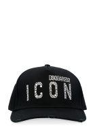 Dsquared2 Icon Baseball Cap - Nero