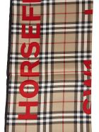 Burberry Horseferry Road Checked Scarf