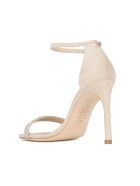 Stuart Weitzman Nudistsong Stiletto Sandals - Dolce Clear Dolce Clear