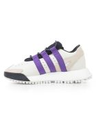 Adidas Originals by Alexander Wang Adidas By Alexander Wang Lace-up Sneakers - White Brown