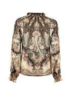 Etro Silk-cotton Blend Shirt - Multicolor