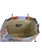 Marni Logo Striped Shopping Bag - Multicolor