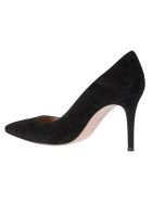 Gianvito Rossi Pointed High Heeled Pumps - Black