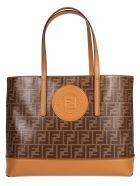 Fendi Ff Logo Shopper Bag - Basic