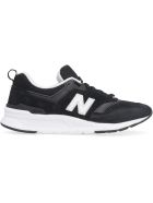 New Balance 997 Suede And Mesh Sneakers - black