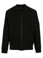 Stone Island Shadow Project Classic Bomber - Black