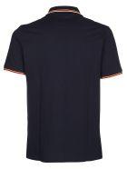 Paul&Shark Striped Detail Polo Shirt - Blue