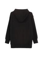 Moschino Cotton Hoodie - black