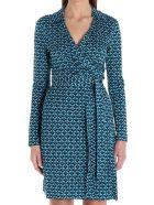 Diane Von Furstenberg 'new Jeanne Two' Dress - Light blue