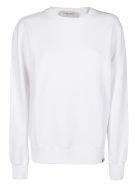 Golden Goose White Cotton Sweatshirt - White