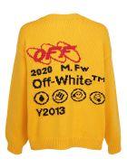 Off-White Sweater - Yellow bla