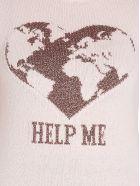 Alberta Ferretti 'help Me' Sweater - Pink