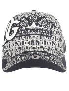 Dolce & Gabbana Baseball Hat - Bandana fdo. nero