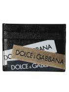Dolce & Gabbana Logo Tape Cardholder - Basic
