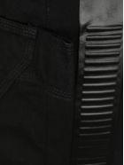 Bottega Veneta Side Striped Straight Jeans - BLACK