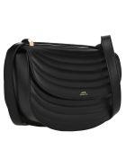 A.P.C. Genève Shoulder Bag - BLACK