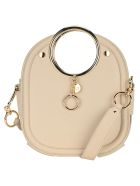 See by Chloé See By Chloe' Mara Ring Handle Tote - CEMENT