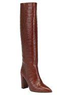 Paris Texas Croco Tall Boots - Brown