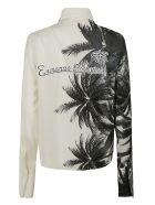 Ermanno Scervino Tropical Print Shirt - White/Black