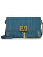 Givenchy Charm Leather Clutch - green