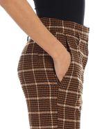 Tela Zen Check Trousers - Cammello