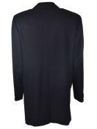 Kiton Classic Coat - Black