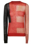 Rick Owens Knitted Sweater - Red