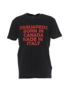 Dsquared2 Logo T-shirt - Black