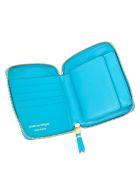 Comme des Garçons Wallet Wallet Medium Classic Leather Line - Blue