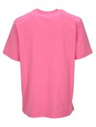 MSGM Monster Hand T-shirt - PINK
