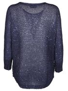 Snobby Sheep Sequined Top - Blue